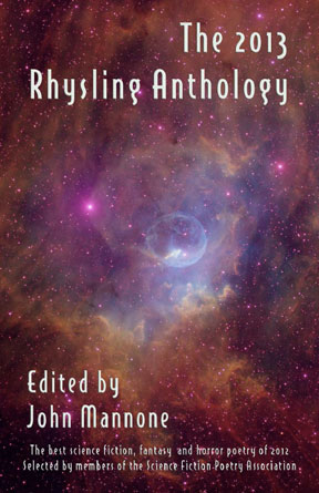 2013 Rhysling Anthology cover